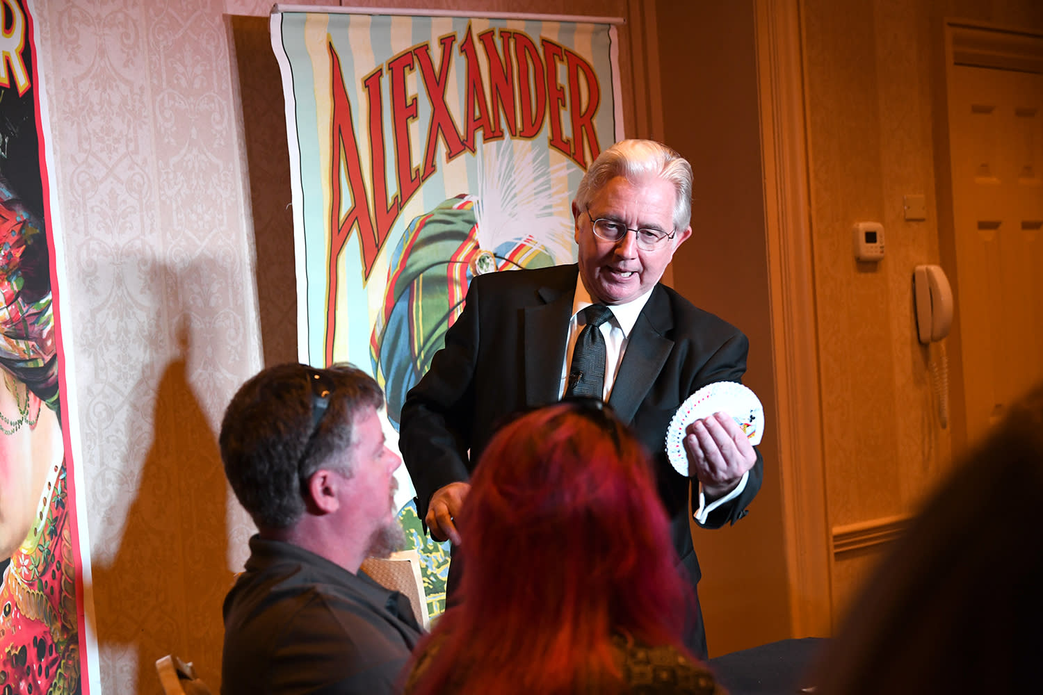 Magician Paul Gertner in Boston, MA