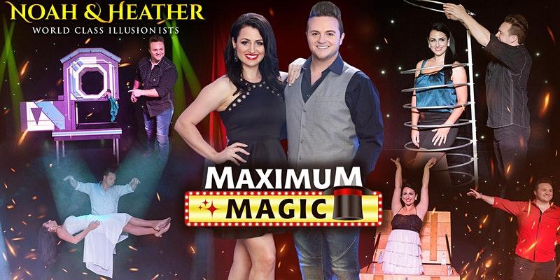 Magicians Noah & Heather in Destin, FL