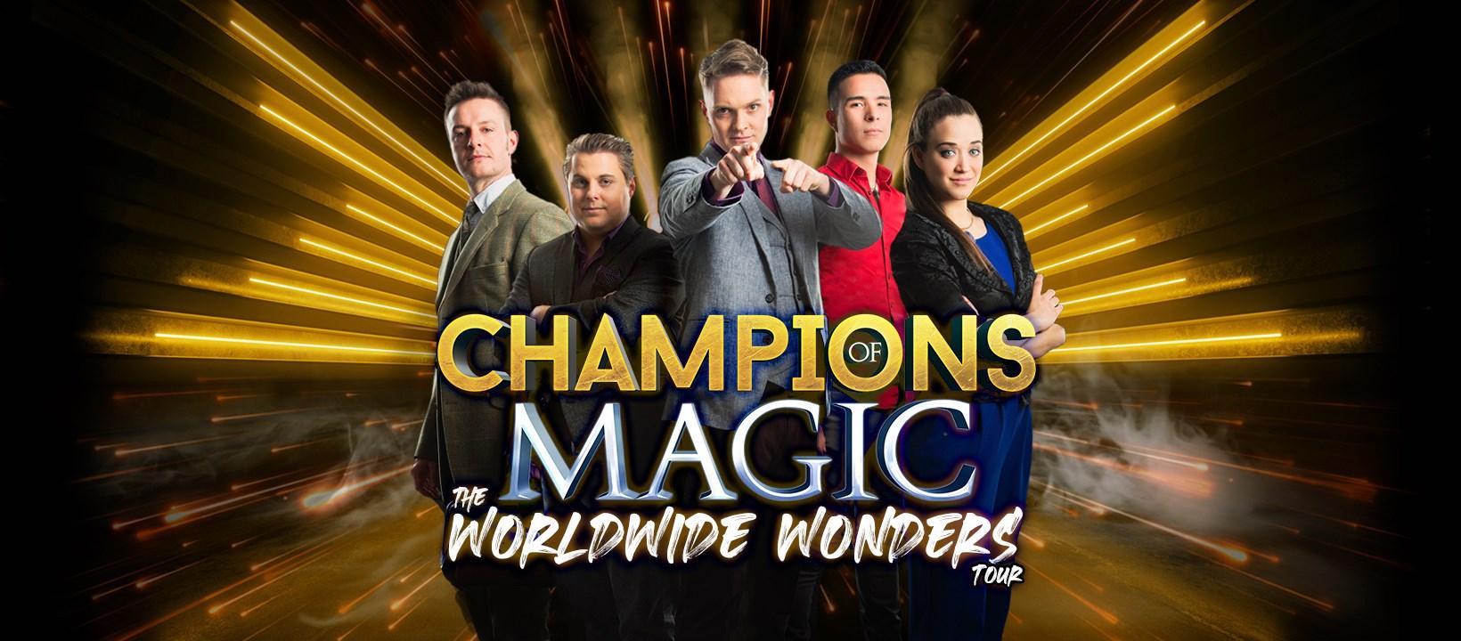 Local Magic Shows Magic Show Magicians Champions Of Magic