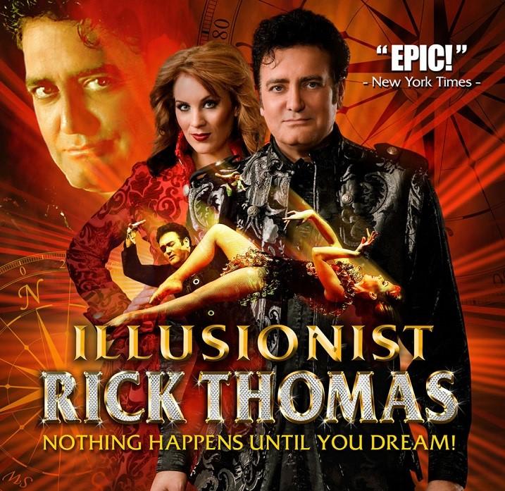Local Magic Shows Magic and Illusions Show Illusionist Rick Thomas