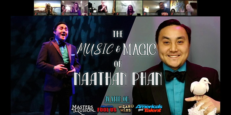 Online - Virtual Magic Show Magician Naathan Phan