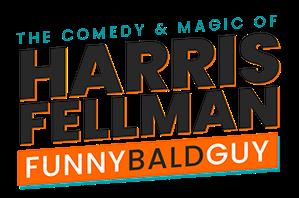 Online - Virtual Comedy Magic Show Magician Harris FellMan