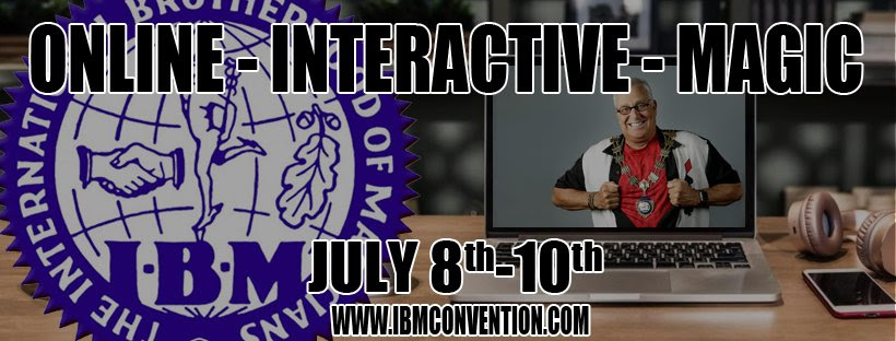 Online - Virtual Magic Convention The  International Brotherhood of Magicians